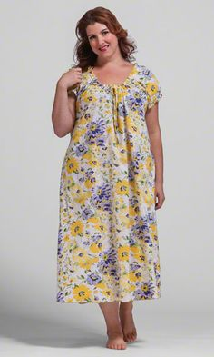 The Flora Nightgown