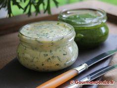 Beurre à l'ail des ours Chutney, Pesto, Parmesan, Pickles, Entrees, Cucumber, Sauces, Food, Salads