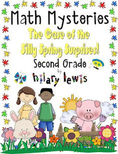 I finally got the 2nd grade math mystery finished! Fun way to practice Common Core math standards. Read the story, answer the math question, go to the right page to solve the mystery. Check it out!