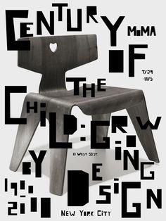MoMA Exhibition Poster Series by Rachel Ake, via Behance