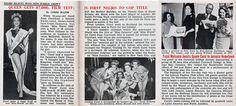 Carol J. Crawford is First Black Miss World - Jet Magazine November 1963 Jet Magazine, Black Magazine, Today In Black History, Newspaper Article, Miss World, 20 Years Old, Jamaica, Optical Glasses, Feelings