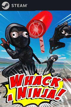 Mon jeu Whack a Ninja Vient de Sortir à l'Instant sur STEAM