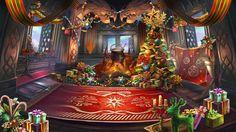 Christmas Theme Lobby - Storm Shelter | Dragon Blaze