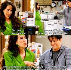 Janice and Joey