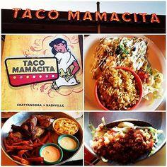 Taco Mamacita- Chattanooga, TN. The chicken nachos are oh so yummy!