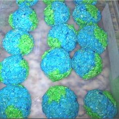 We make these every year in my class for Earth Day! ~Mrs. Angelo