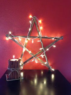 Lady's Makes and Bakes: DIY Wooden Christmas Star