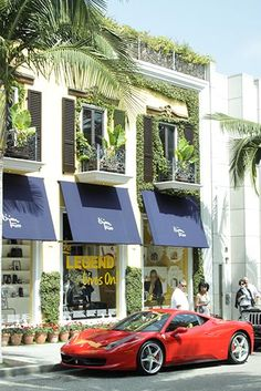 Rodeo Drive, Los Angeles, California...did this! Saw Bijan's son and his bugatti!, lol!