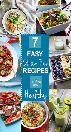 Seven (plus) EASY Gluten Free Recipes we rely on to stay healthy! The new year is here, stay healthy and eat well with these tried and tested easy gluten free recipes. Vegan, paleo, and Vegetarian options. We love them all and use them all for overall health and wellness. See why on www.cottercrunch.com @Cotter Crunch