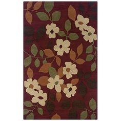 """/""""Bless Our Home/"""" Rug Mat Burgundy Red Beige Country Washable Accent Matching Set"""