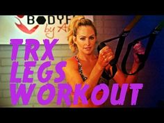 This workout uses the TRX suspension trainer to work the legs glutes and core all while getting cardio in too! Trx Ab Workout, 15 Minute Workout, Postnatal Workout, Workout Videos, Cardio, Trx Abs, Body Workouts, Kettlebell, Trx Suspension Trainer