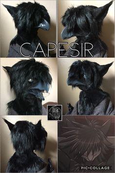 Furry Art Clean, Fursuit Head, Animal Tails, Online Gallery, Beast, Artwork, Sad, Fandom, Change