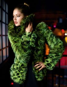 Fur is making a statement for a few more seasons. Go with a wild color if you want to stand out in the crowd...a lot, otherwise use fur as an accent. Jacket collars, trim on gloves or boots, or vest layered under a classic coat.