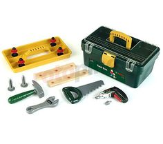 Jeu d'imitation set d'outils en coffret Bosch http://www.rotopino.fr/jeu-d-imitation-set-d-outils-en-coffret-bosch,58554 #jouet #jeu #enfant #rotopino #bosch