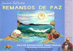 nauguración de exposición: 'Remansos de Paz' de Jaime Estévez. en la Sala de exposiciones de Gran Tarajal