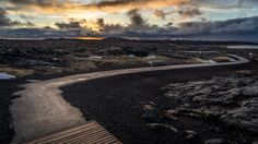 Sunrise in the Southern Peninsula - Sandvik, Iceland - Travel photography Iceland Travel, Cool Landscapes, Landscape Photos, Most Beautiful Pictures, Sunrise, Travel Photography, Country Roads, Blog, River