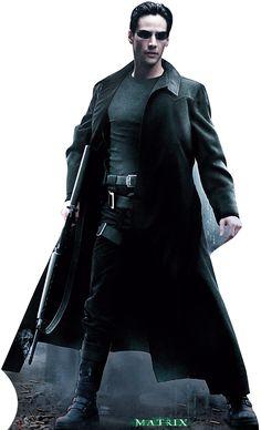 The Matrix Cardboard Standup