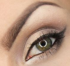 Soft and smokey this look by dzastina252 is the perfect bridal look for a summer wedding! Products used: Makeup Geek eyeshadows in Brown Sugar, Mocha, Moondust, and Prom Night. Makeup Geek pigment in New Year's Eve.