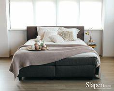 Mooie boxsprings bij www.slapenonline.nl #boxsprings #velda 3D #inspiratie #slaapkamer