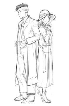 Λnnie Mei Project . Character Sketch / Drawing