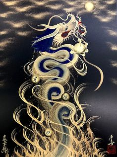 New chinese art tattoo artworks ideas Watercolor Dragon Tattoo, Watercolor Art Face, Fantasy Dragon, Fantasy Art, Canvas Artwork, Canvas Art Prints, Eagle Drawing, Chinese Dragon Tattoos, Dragon Tattoo For Women