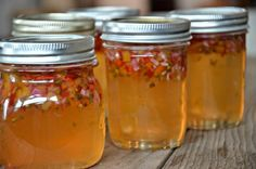Apricot Pepper Jelly | mountainmamacooks... More