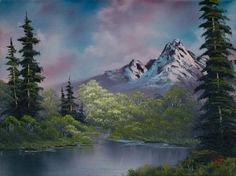 bob ross amethyst evening 85971 painting                                                                                                                                                                                 More
