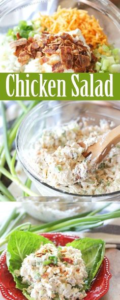 WEIGHT WATCHERS CHICKEN SALAD ♥