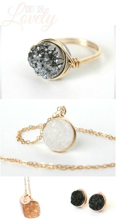 Wrenn Jewelry- I am absolutely obsessed with this line!! Just ordered this ring!