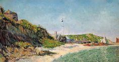 Paul Signac - Port-en-Bessin, the Beach, 1883. Картины с аукционов Sotheby `s