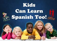 Being bilingual is not easy, especially for a child. That is why I had come up with Kids Can Learn Spanish Too, a basic Spanish lesson for kids that is designed to teach Spanish to kids at the age they learn best. Spanish can be complicated, but with the short and meaningful segments in this program tutorial, I introduce Spanish in a way that kids will truly enjoy.