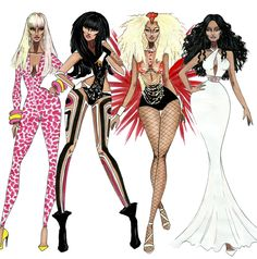 The Nicki Minaj Eras - by Armand Mehidri. Which one is your favorite ?