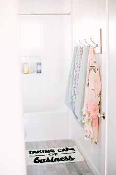 a fun way to quickly change up a bathroom.
