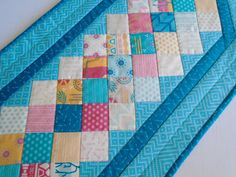 Southwestern Quilted Table Runner Quilted by ForgetMeNotQuilteds