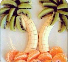 una comida saludable pero divertida