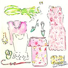 Have fun celebrating St. Patty's Day this weekend, Lilly Lovers!  Don't forget to wear your green (and pink)  #lilly5x5