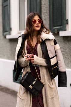 Boho layers in winter