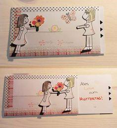 ... und damit es nicht wie jedes Jahr Blumen gibt, habe ich mir die Idee von dekotopia (< Anleitung) geschnappt und ein Muttertagsgeschenk ...