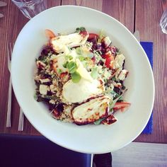 Halloumi & Quinoa salad at The Dock   #goodfood #Plymouth #thedockplymouth