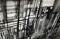 City? Laurazini Contemporary paint_art