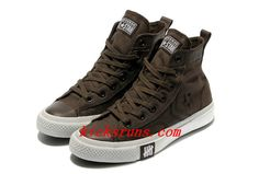 Limited Edition Brown #Converse High Tops Chocolate All Star #Canvas Shoes #sports