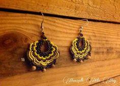 Boucles d'oreilles perles pièces uniques  http://www.alittlemarket.com/boutique/mam_zelle_milie_may-734507.html