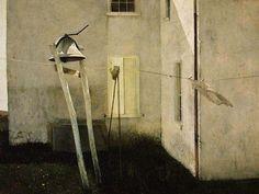 waltzingcat:  Slight Breeze Andrew Wyeth