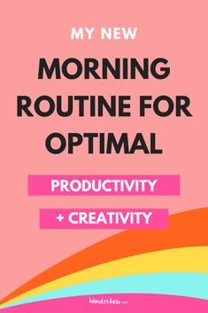 Do you have a morning routine that you implement each day? Creating a morning routine is so important for not only increased productivity but also your mental health   a feeling of consistency. My morning routine has changed
