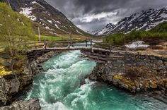 Photograph Little bridge Jotunheimen Norway by Europe Trotter on 500px