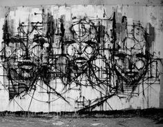 Street art by French  iemza