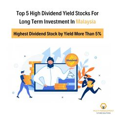 A stock dividend gives you something solid in your hand. It is a true return on investment.  Here is the list of Highest Dividend Stock in Malaysia by Yield more than 5%. #divideninvestment #stockdividend #dividendyieldstock #bursamalaysia