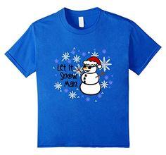 Kids Funny Christmas Snowman-Let it snow, Man Winter T-sh... https://www.amazon.com/dp/B01M5E0X6Q/ref=cm_sw_r_pi_dp_x_bqDlybBJ5F6WF