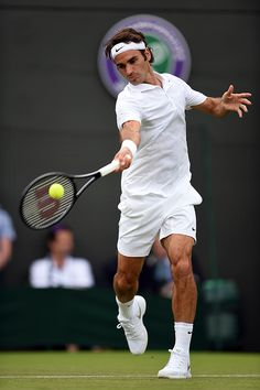 Wimbledon June 2014 / Roger Federer - Billie Weiss/AELTC