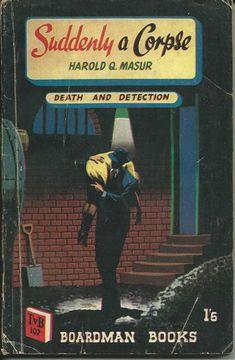 pinterest 1949 Simon and Schuster hardcover 1952 Boardman UK reissue cover art by Dennis McLoughlin Seattle Mystery Bookshop